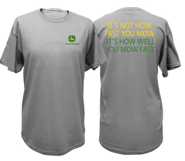 John Deere Men's Mow Fast T-Shirt