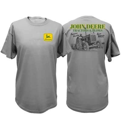 John Deere Tractors & Plows T-Shirt