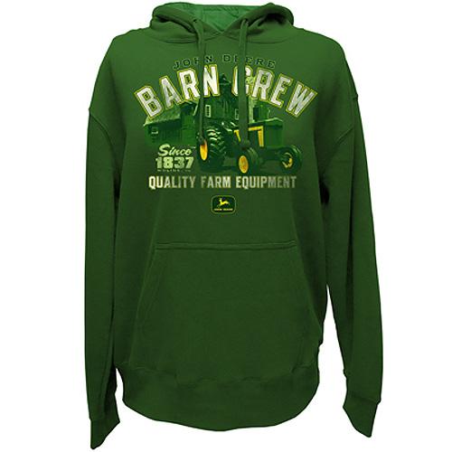 John Deere Barn Crew Hoodie