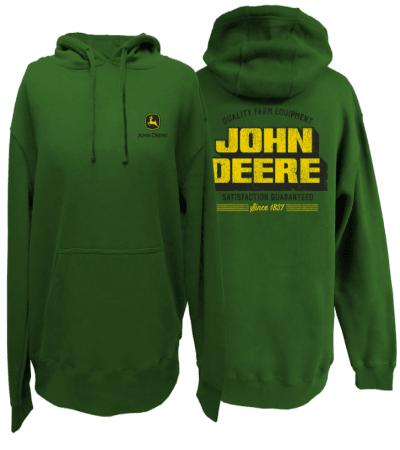 John Deere Quality Farm Equipment Hoodie
