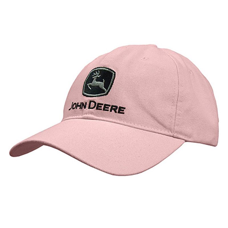 John Deere Washed Canvas Baseball Cap