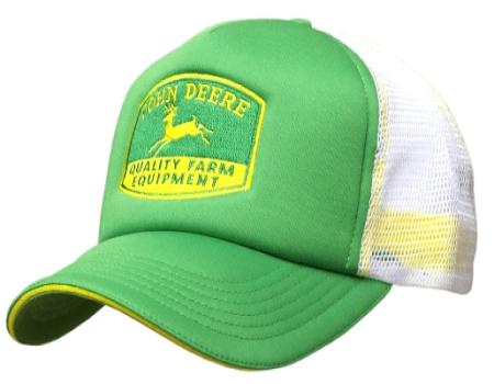 John Deere Mesh Back Foam Trucker Hat