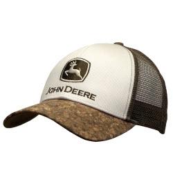 John Deere Twill & Mesh Cap