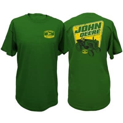John Deere Green Tractor T-Shirt