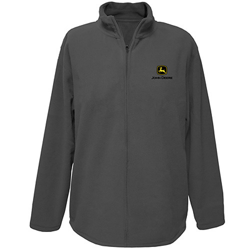 John Deere Logo Zip Up Sweatshirt