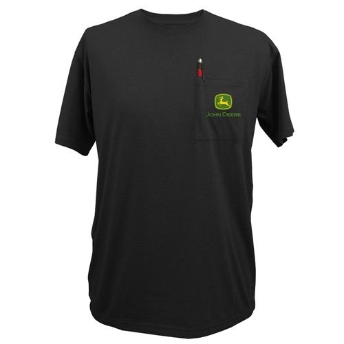 John Deere Logo Pocket Short Sleeve Tee