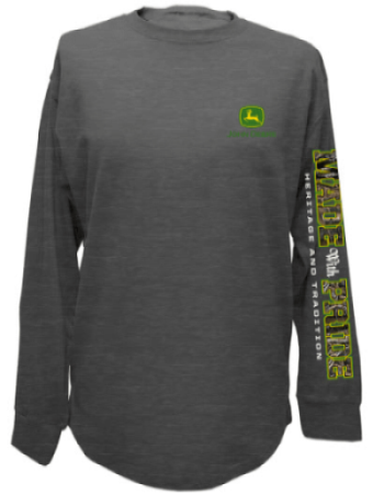 John Deere Made With Pride Long Sleeve T-Shirt