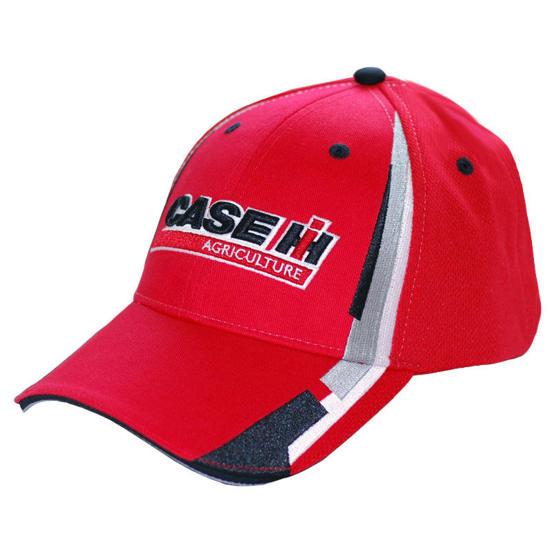 Case IH Striped Stretch Fit Cap