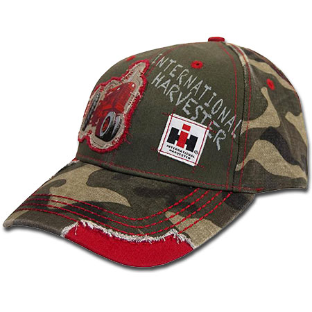IH Distressed Tactor Patch Baseball Cap