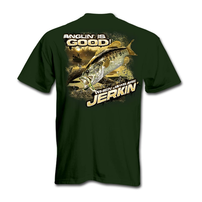 Anglin is Good When Jaws Are Jerkin T-Shirt
