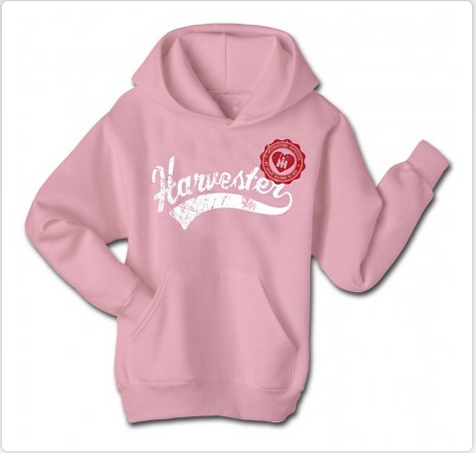 Damaged IH Harvester Script Tail Hoodie