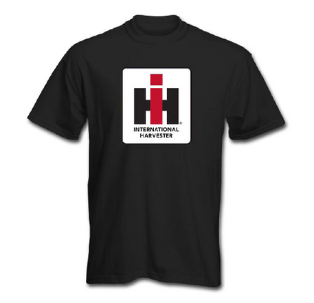 Men's IH Logo T-Shirt in Black, Red, Charcoal and Heather Charcoal