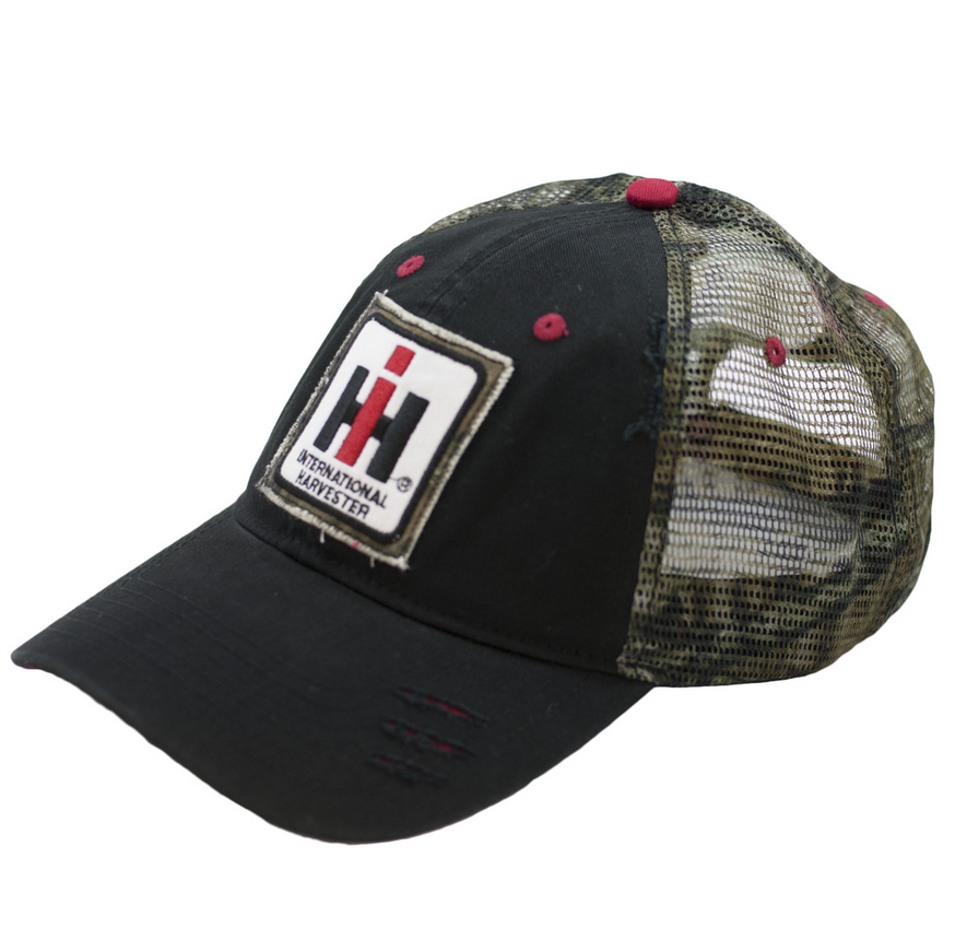International Harvester Camo and Black Cap
