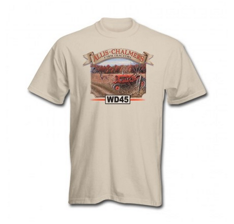 DAMAGED Allis Chalmers WD45 Tractor T-Shirt