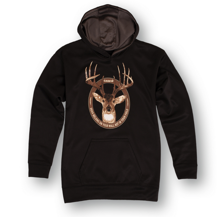 Youth Case Deer Camo Performance Hoodie