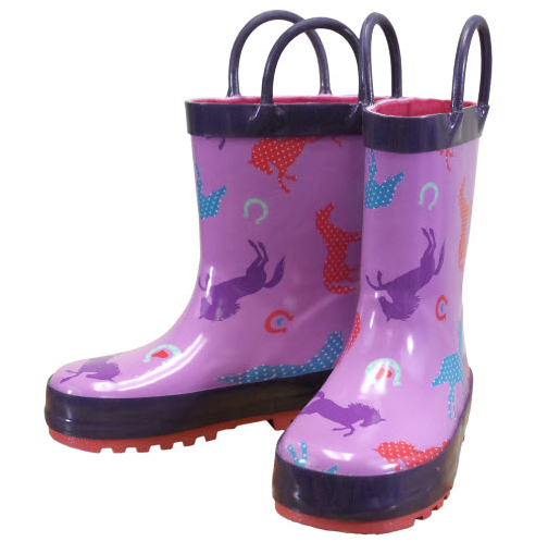 Farm Girl Toddler Rain Boots