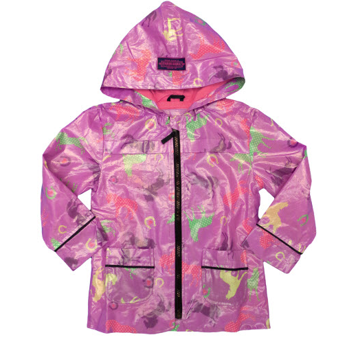 Farm Girl Toddler Rain Coat