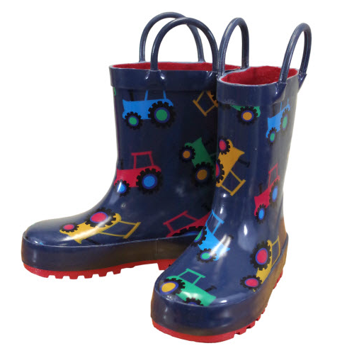 Farm Boy Toddler Rain Boots