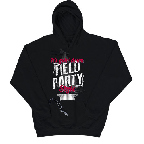 Farm Boy Field Party Hoodie with Bottle Opener