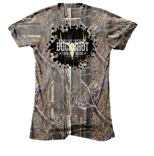 Farm Boy Buckshot Mossy Oak T-Shirt