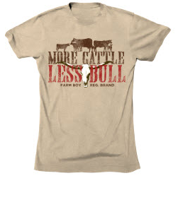 Farm Boy Less Bull T-Shirt
