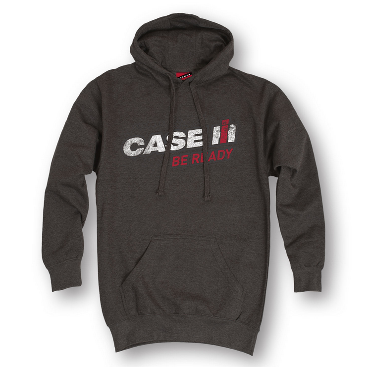 Case IH Be Ready Hooded Pullover