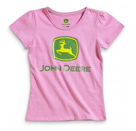 DAMAGED John Deere Logo T-Shirt