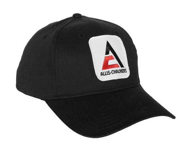 Allis Chalmers Triangle Logo with Solid Back Hat