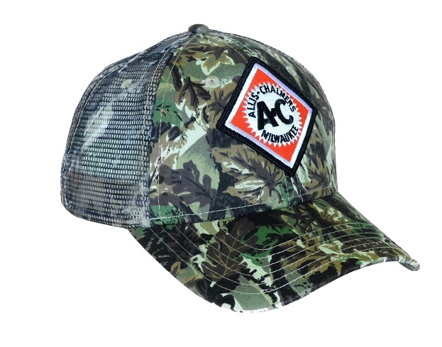 Allis Chalmers Camouflage Hat with Mesh Back