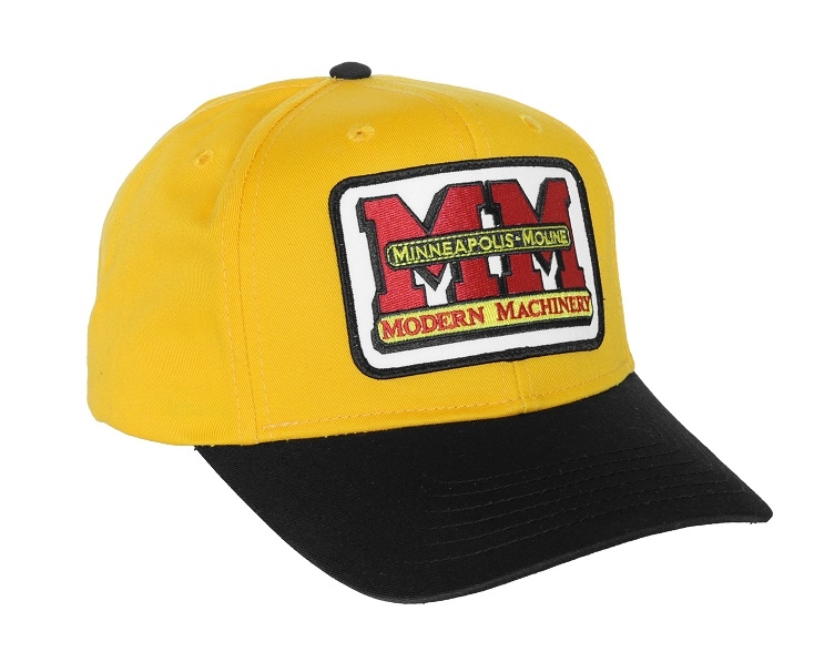 Minneapolis Moline Yellow/Gold and Black Hat