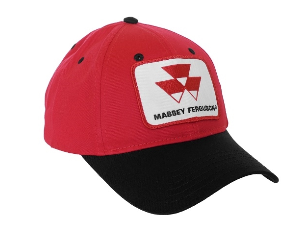 Massey Ferguson Red and Black Hat