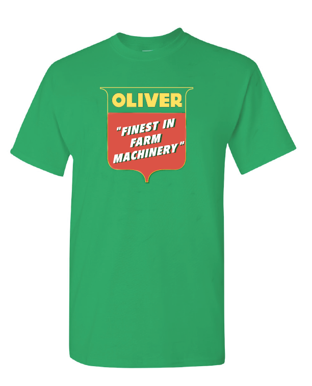 Oliver Men's Finest In Farm Machinery T-Shirt