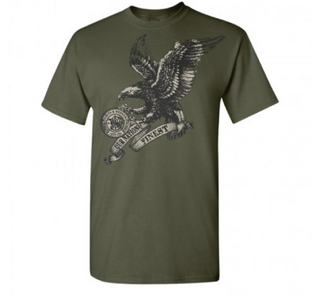 DAMAGED Smith & Wesson Eagle T-Shirt