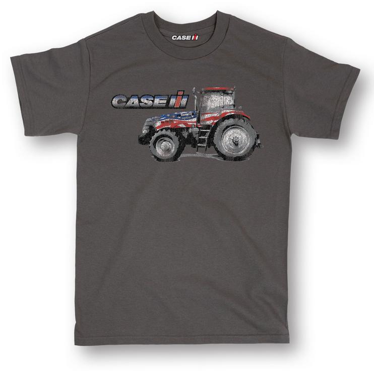 Case IH Patriotic Tractor T-Shirt