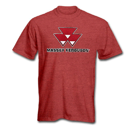 DAMAGED Massey Ferguson Men's Logo T-Shirt