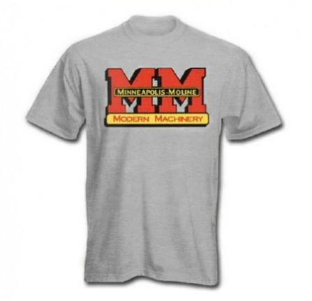Minneapolis Moline Men's Gray Logo T-Shirt