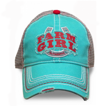 Farm Girl Horseshoe Cap