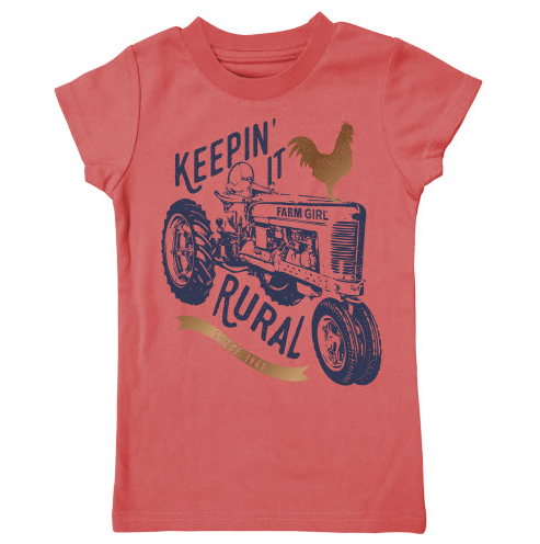 Farm Girl Keepin' it Rural Tee
