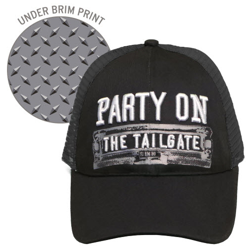 Farm Boy Party On The Tailgate Mesh Hat