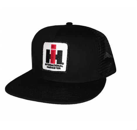 DAMAGED IH Mesh Trucker Cap - Black