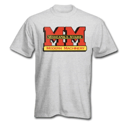 DAMAGED Minneapolis Moline Children's Gray Logo T-Shirt