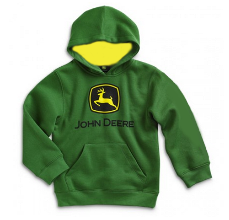 John Deere Toddlers Logo Hoodie