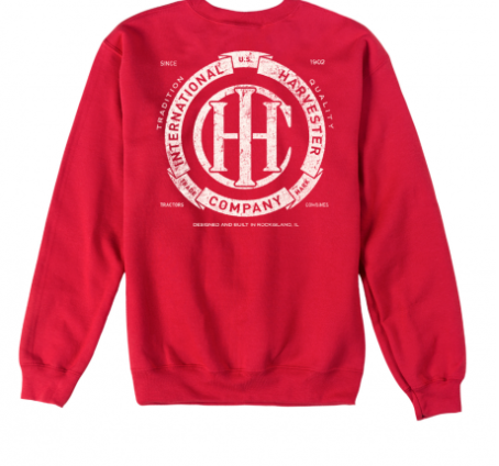 DAMAGED IHC CIRCLE BANNER SWEATSHIRT
