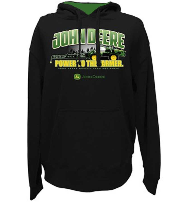 John Deere Power To The Farmer Hoodie