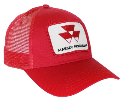 DAMAGED Massey Ferguson Red Mesh Hat