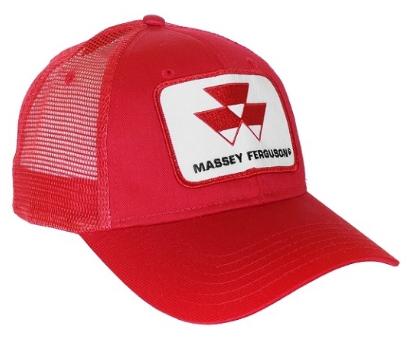 DAMAGED Massey Ferguson Red Mesh Hat