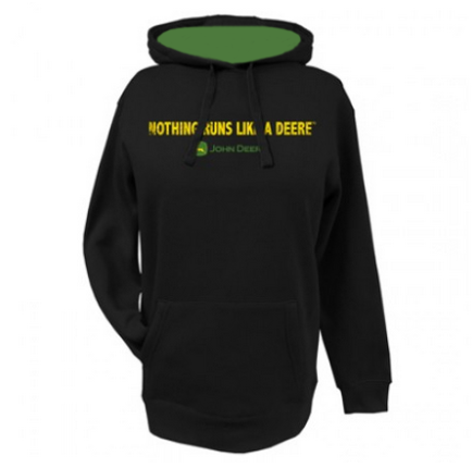 John Deere Women's Nothing Runs Like A Deere Hoodie