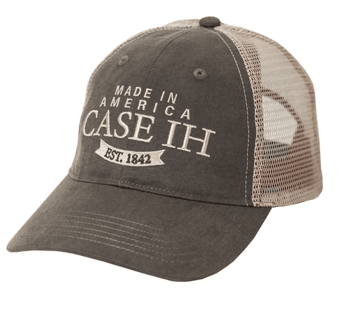 Case IH Two-Tone Oil Cloth Trucker Cap