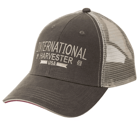 IH Two-Tone Oil Cloth Trucker Cap