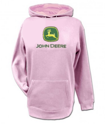 DAMAGED John Deere Infants and Toddlers Logo Hoodie